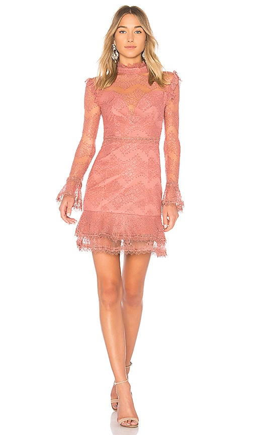 NICHOLAS Thalia Dress in Rose