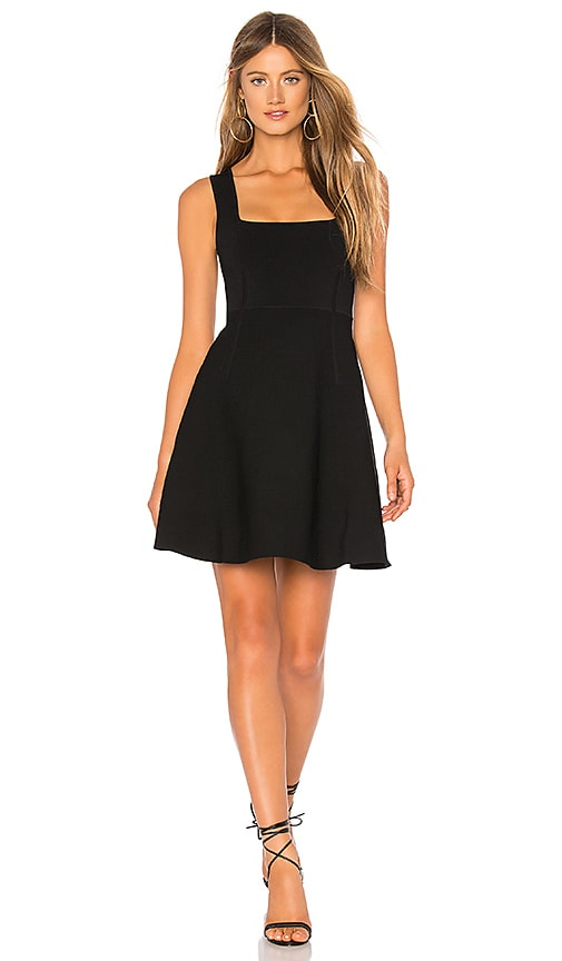 Nicholas Milano Square Neck Dress In Black Revolve