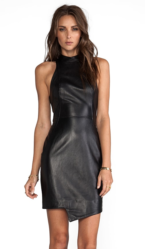 Racer Paneled Dress