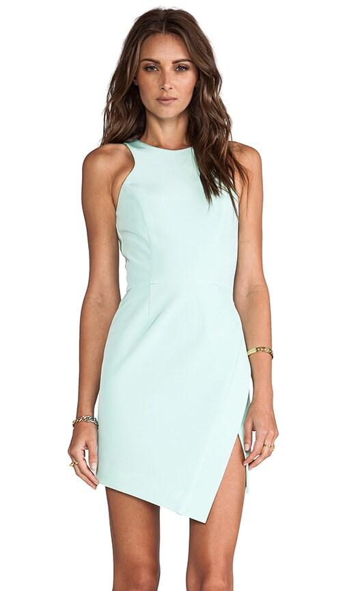 Bonded Silk Wrap Skirt Dress