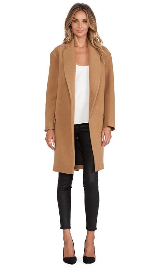 Felted Wool Full Length Coat