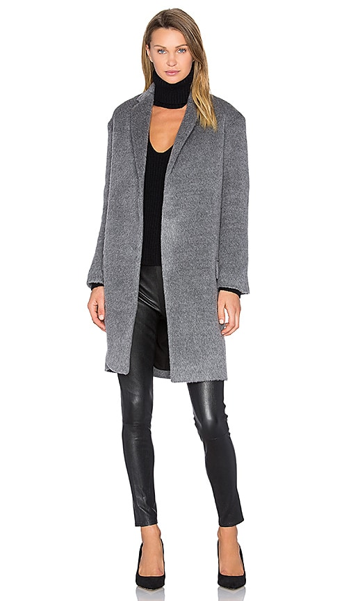 n / nicholas Notch Lapel Coat in Grey