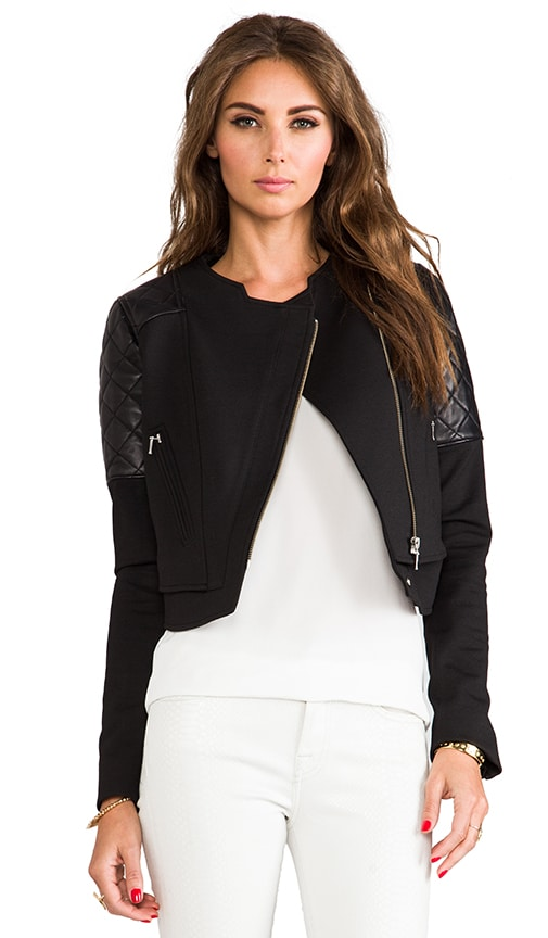 Ponti Quilted Jacket