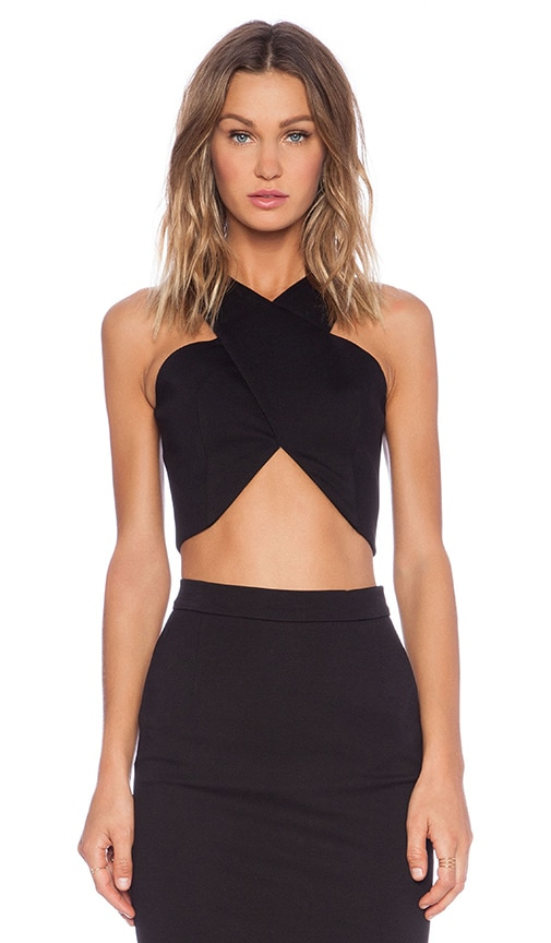 Cross Over Crop Top