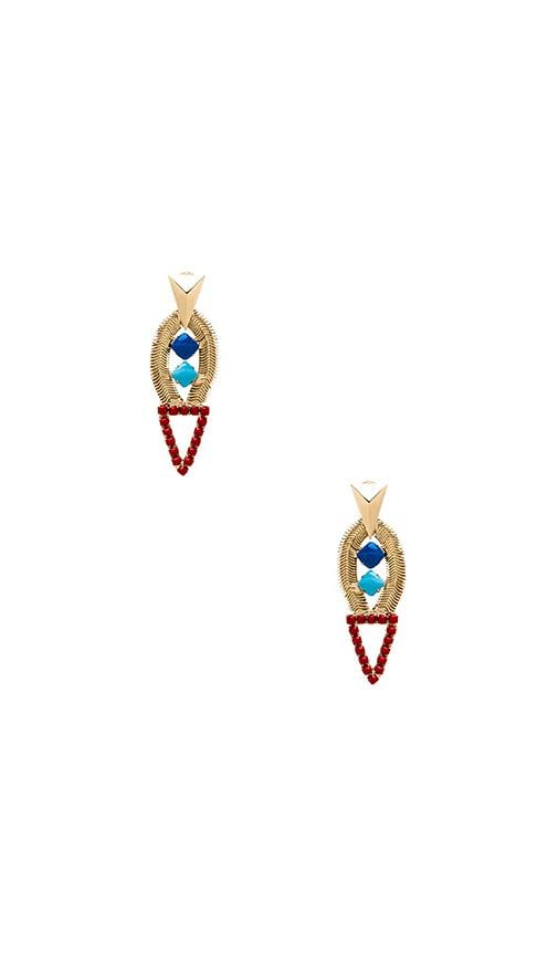 Deco Tower Earrings