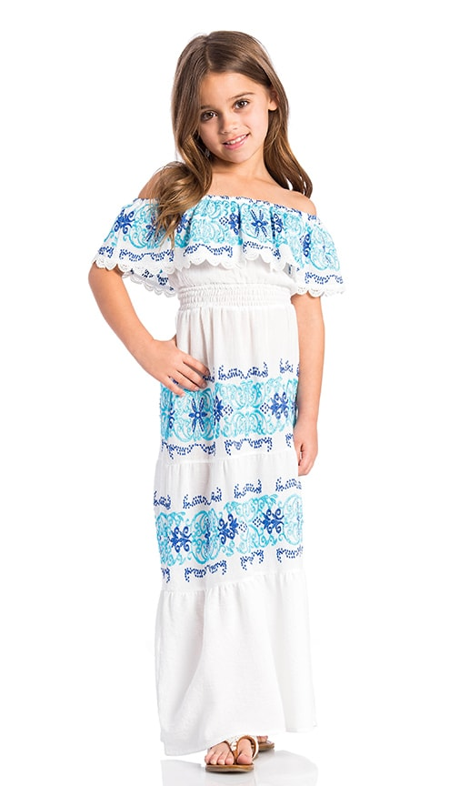 Nightcap Greek Isle Maxi Dress in White