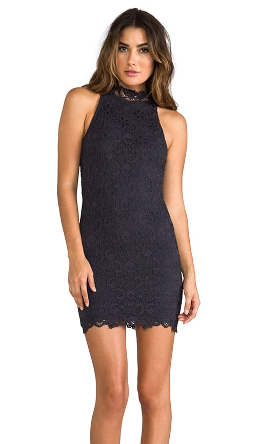 Dixie Lace Halter Dress