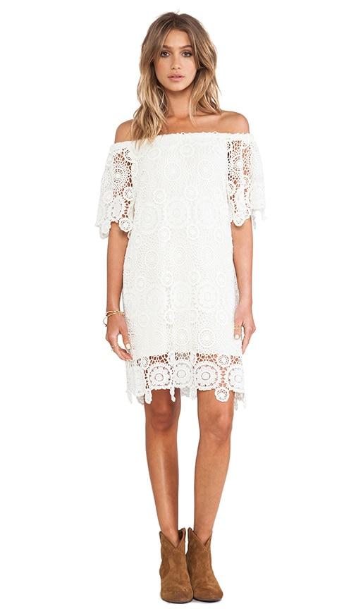 Carmen Crochet Dress