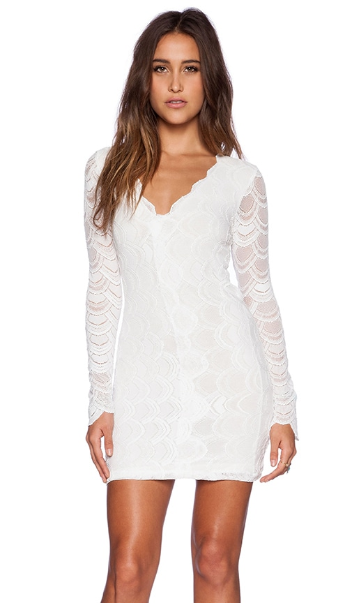 Victorian Lace Long Sleeve Dress