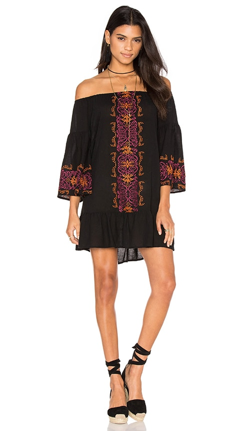 Nightcap Santorini Dress in Black