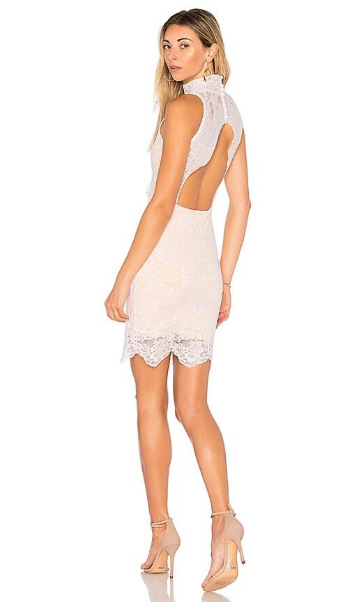 Nightcap Victorian Mini Dress in White