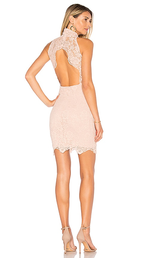 Nightcap Victorian Mini Dress in Pink