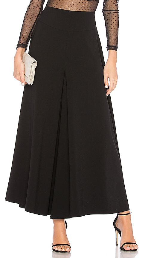 Nightcap Crepe Culotte Pant in Black