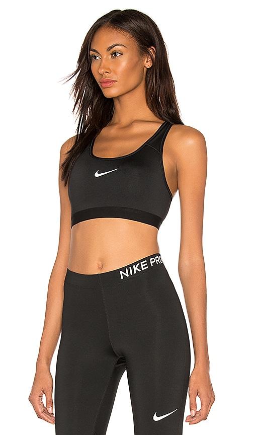 16fb052dd2 Nike Classic Pad Bra in Black   White