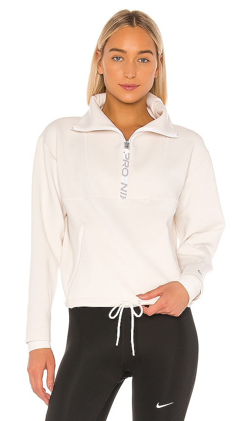 NP Cropped Mock Neck Pullover
