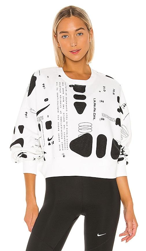 Future Air Aop Crew Sweater