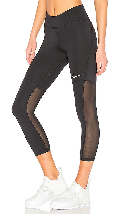 Nike Fly Victory Crop Pant in Black