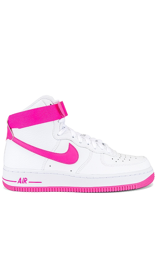 shoes, pink, nike air force, hot pink, nike air force 1