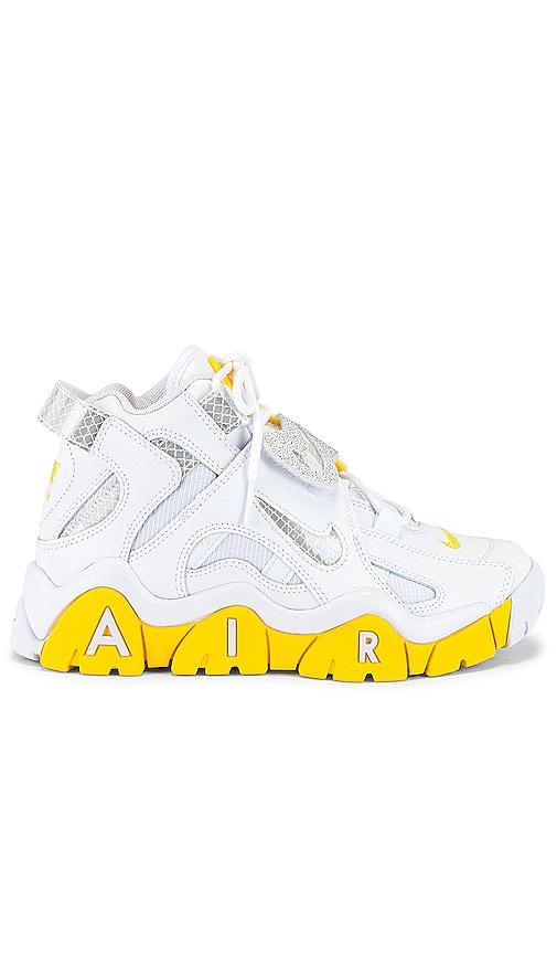 Nike Air Barrage Mid Sneaker in White