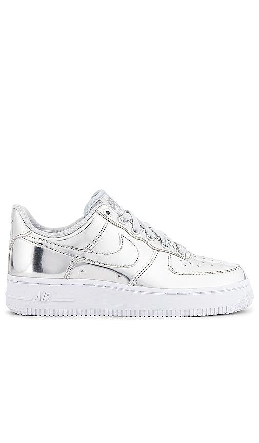 Nike Air Force 1 Sneaker in Chrome
