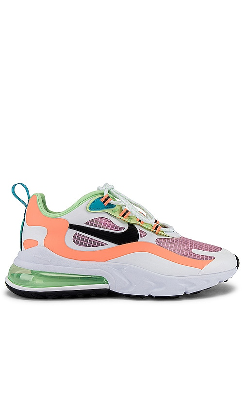 Nike Air Max 270 React Se Sneaker In Light Artic Pink Black