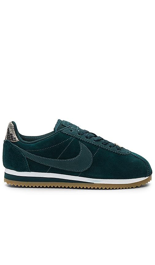 Nike x A.L.C. Classic Cortez Sneaker in Dark Green