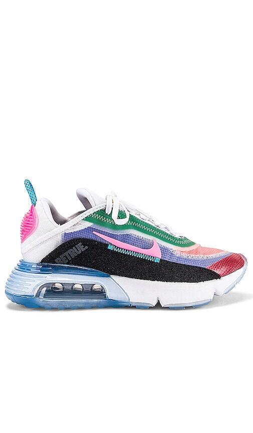Hazlo pesado misil Alfombra de pies  Nike BeTrue Air Max 2090 Sneaker in Multicolor, Digital Pink & Black    REVOLVE