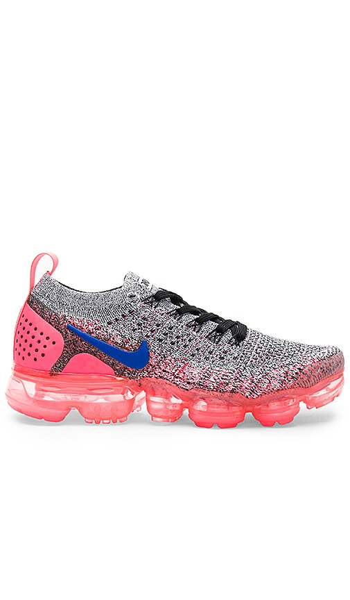 c10bd7b94e Nike Air Vapormax Flyknit 2 Sneaker in White, Ultramarine & Hot ...