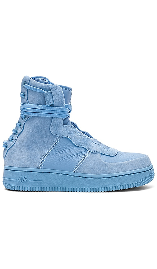 Nike AF1 Rebel Sneaker in Baby Blue