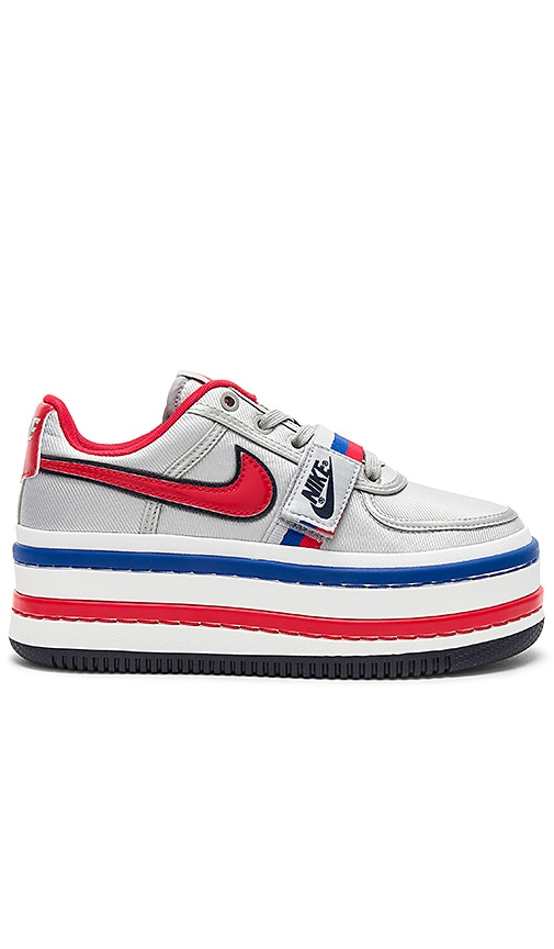 dbe47bfa Nike Vandal 2K Platform Sneaker in Metallic Silver & University Red ...