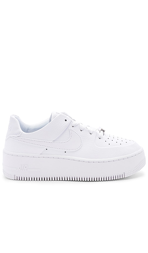 98b230281f441d Nike Air Force 1 Sage Low Sneaker in White
