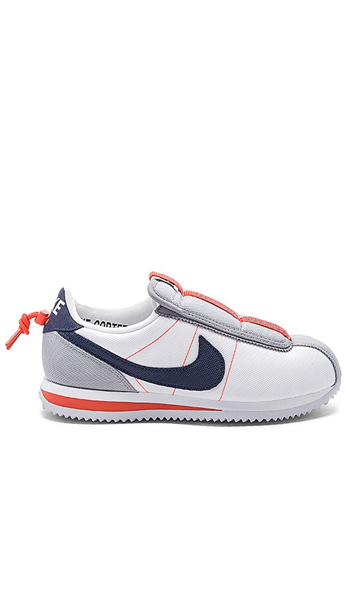 innovative design d2b23 7f0a6 Nike Cortez Kenny IV Sneaker in White, Blue, Grey & Turf ...