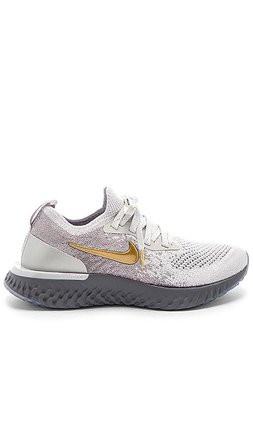 28f2d6b22641 Nike Epic React Flyknit Sneaker in Vast Grey