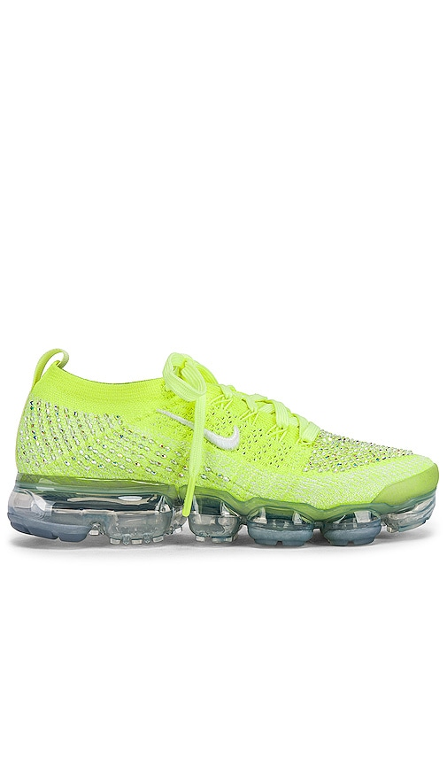 87b3b147680 Nike Air Vapormax Flyknit 2 LXX Sneaker in Volt Glow, White & Barely ...