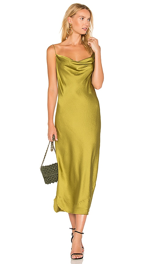 NILI LOTAN Alexa Dress in Olive