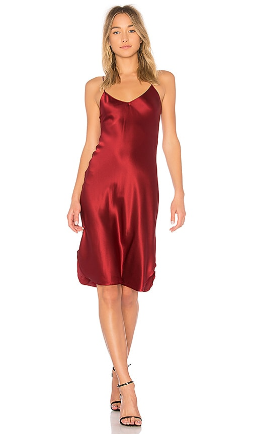 NILI LOTAN Short Cami Dress in Red