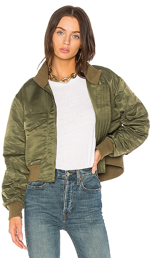 NILI LOTAN McGuire Jacket in Army