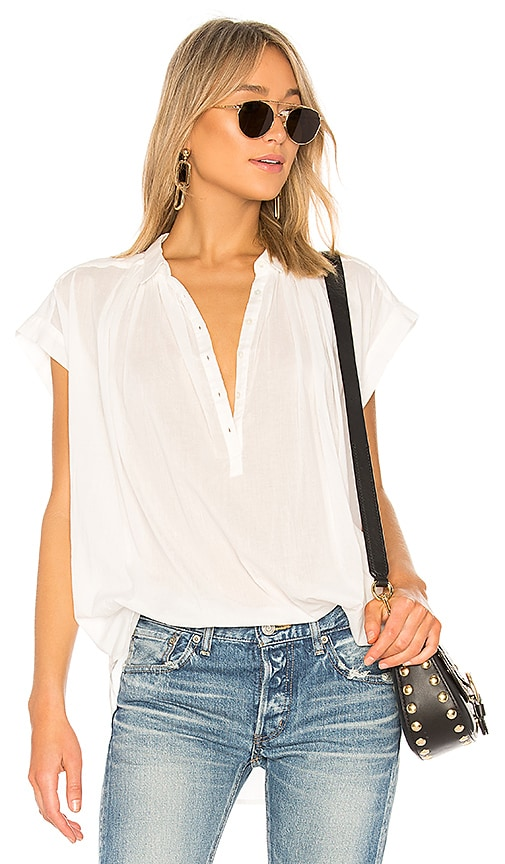 NILI LOTAN Normandy Blouse in White
