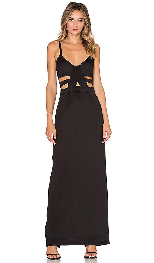 Nightwalker Shera Maxi Dress in Black