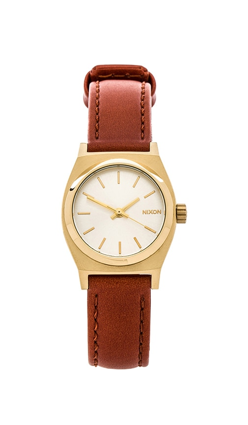 The Small Time Teller Leather