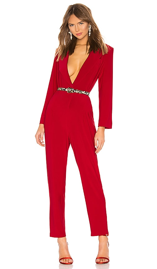 X REVOLVE Single Breasted Jumpsuit