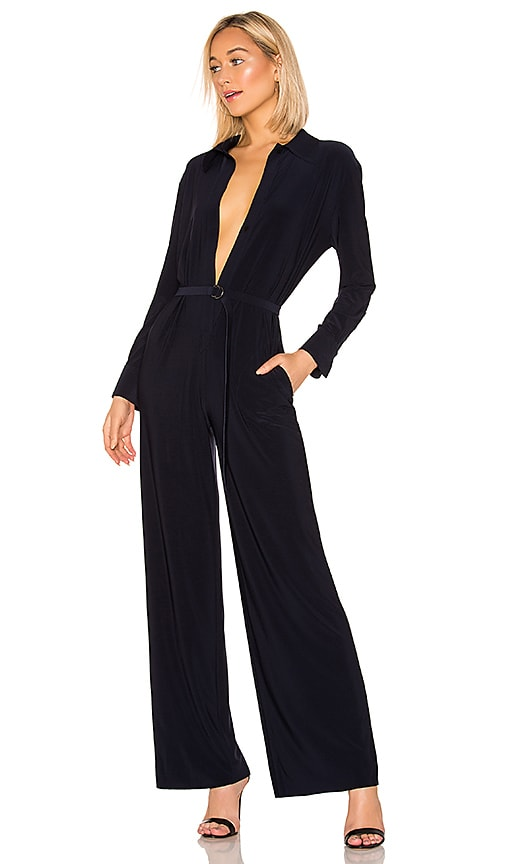 x REVOLVE Shirt Straight Leg Jumpsuit