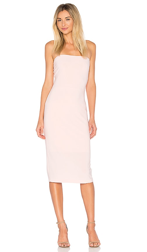 Norma Kamali x REVOLVE Strapless Dress in Blush