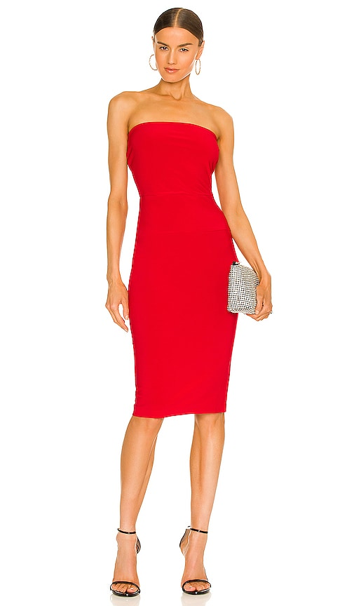 Red Spandex Dress | REVOLVE