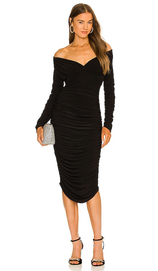 Norma Kamali Tara Dress in Black