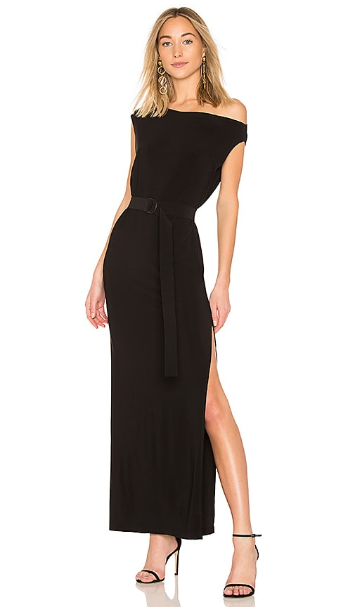 Drop Shoulder Gown by Norma Kamali