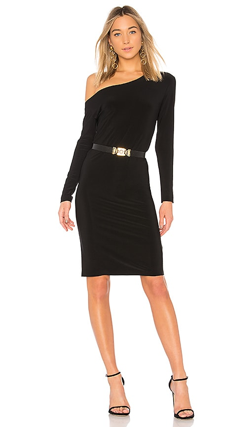 Discount Top Quality Sale Shop Offer long sleeved dress - Black Norma Kamali Cheap Price Fake Discount Best Seller Great Deals gnKxk2r6N