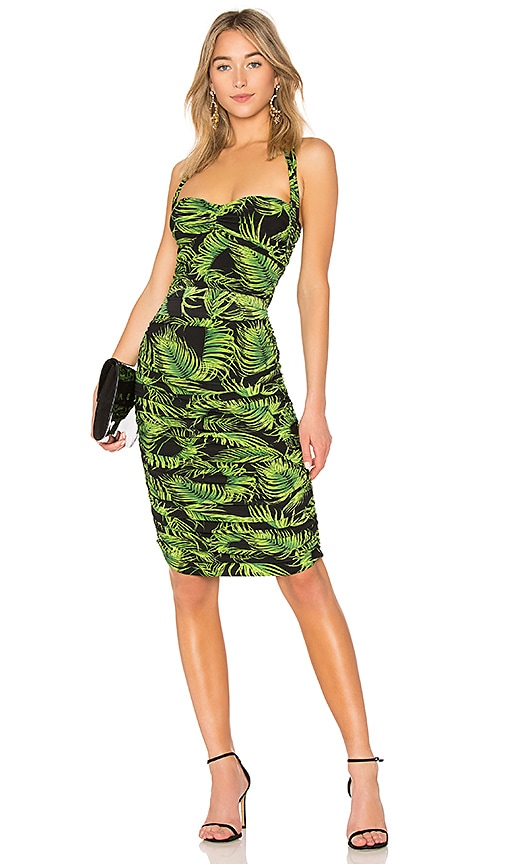 Norma Kamali Bill Dress in Green