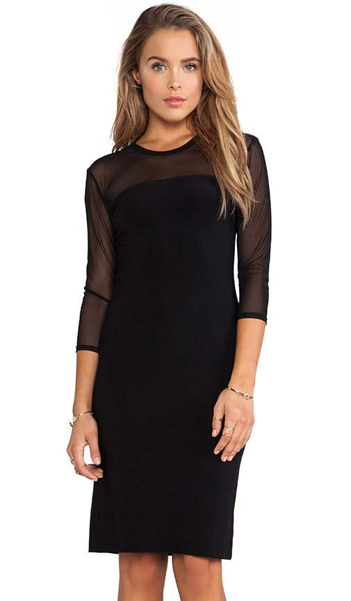 KAMALIKULTURE Mesh Sleeve Dress