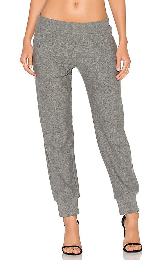 Norma Kamali Jogger Pant in Grey
